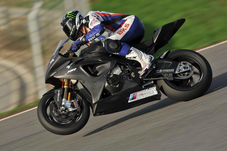 James Toseland BMW Test